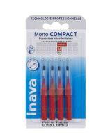 Inava Brossettes Mono-compact Rouge Iso 4 1,5mm à Entrelacs