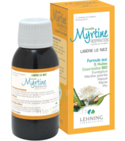 Lehning Myrtine Inhalante Solution D'inhalation 5 Huiles Essentiels Bio Fl/90ml à Entrelacs