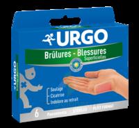 Urgo Brulures-blessures Petit Format X 6 à Entrelacs