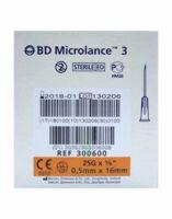 Bd Microlance 3, G25 5/8, 0,5 Mm X 16 Mm, Orange  à Entrelacs