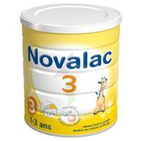 Novalac 3 Lait De Croissance B/800g à Entrelacs