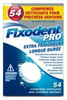 Fixodent Pro Comprimés Nettoyant Fraîcheur Longue Durée Pour Prothèse Dentaire B/54 à Entrelacs
