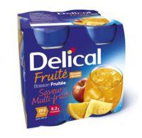 Delical Boisson Fruitee Nutriment Multi Fruits 4bouteilles/200ml à Entrelacs