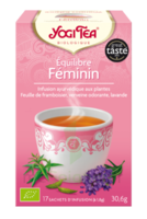 Yogi Tea Tisane Ayurvédique Equilibre Féminin Bio 17 Sachets/1,8g à Entrelacs