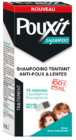 Pouxit Shampoo Shampooing Traitant Antipoux Fl/200ml+peigne à Entrelacs