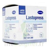 Lastopress® Bande De Compression Cohésive 10 Cm X 3,5 Mètres - Coloris Blanc à Entrelacs