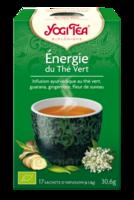 Yogi Tea Thé Energie Du Thé Vert Bio 17 Sachets/1,8g à Entrelacs