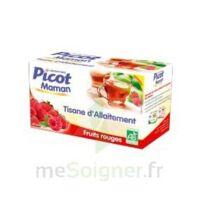 Picot Maman Tisane D'allaitement Fruits Rouges 20 Sachets à Entrelacs