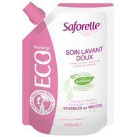 Saforelle Solution Soin Lavant Doux Eco-recharge/400ml à Entrelacs