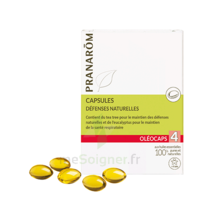 Oléocaps 4 Caps Système Immunitaire Bio B/30 à Entrelacs