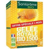 Santarome Bio Gelée Royale Solution Buvable 30 Ampoules/10ml à Entrelacs