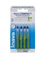 Inava Brossettes Mono-compact Vert Iso 6 2,2mm à Entrelacs