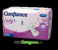 Confiance Lady Protection Anatomique Incontinence 4 Gouttes Sachet/14 à Entrelacs