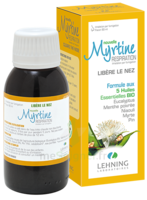 Lehning Myrtine Inhalante Solution D'inhalation Aux 5 Huiles Essentielles Bio 100ml à Entrelacs